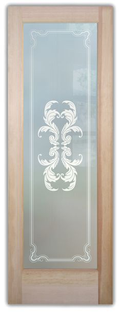 Shop our glass entry doors. Customize your glass doors with a wide variety of quality designs to fit any decor. Start exploring your glass doors options now! Exterior Doors With Glass, Entry Doors With Glass, Glass Doors, Art Deco Borders, Cast Glass, Lake Arrowhead, Winter Trees, Front Entry, Frosted Glass