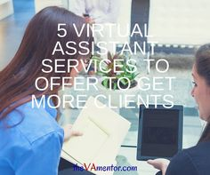 Over the years, I've noticed that one thing that separates successful new VA businesses from those that struggle to find clients is offering the right virtual assistant services.  Some services are just more in demand than others. Here are 5 to offer that will help you land more clients as you're starting out. Read more... http://thevamentor.com/5-virtual-assistant-services-offer-get-clients/  Tracey Osborne #VirtualAssistant #VAMentor #VACoach