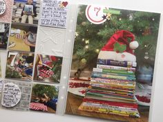 Good idea for a day when there isn't anything special going on. 25 Days Of Christmas, Christmas Albums, Christmas Scrapbook, The Night Before Christmas, Christmas Crafts, Days In December, Travel Album, Ali Edwards, Costumes Kids