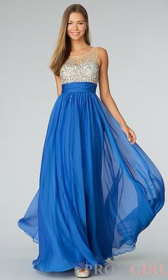 Floor Length Sleeveless JVN by Jovani Dress..