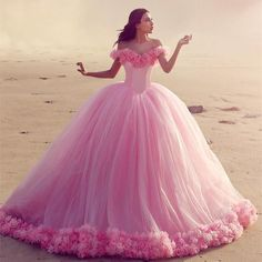 Cheap pink quinceanera dresses, Buy Quality quinceanera dresses directly from China pink quinceanera Suppliers: Elegant Pink Quinceanera Dresses With Flowers Sweetheart Tulle Ball Gown Debutante Gowns vestidos de 15 anos Tulle Ball Gown, Ball Gown Dresses, Prom Dresses, Dresses 2016, Formal Dresses, Dresses Uk, Puffy Dresses, Gowns 2017, Bridesmaid Dresses