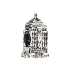 Tedora: Silver Empire State Building Charm