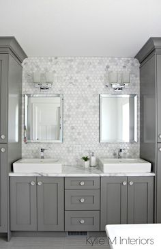 Beautiful bathroom backsplash