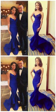 Beautiful Royal Blue ,Sexy Mermaid Long Prom Dres, Shop plus-sized prom dresses for curvy figures and plus-size party dresses. Ball gowns for prom in plus sizes and short plus-sized prom dresses for Royal Blue Prom Dresses, Prom Dresses 2018, Long Prom Gowns, Plus Size Prom Dresses, Strapless Dress Formal, Bridesmaid Dresses, Dress Long, Blue Dresses, Party Dresses