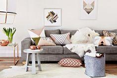 Desvendando o segredos do décor escandinavo: as almofadas | Casinha colorida