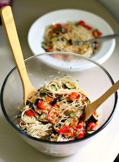 Garden Fresh Pasta - So fresh and quick & easy!!!