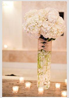 Centerpiece vase. #weddingcenterpiece http://www.bliss-bridal-weddings.com/#!product/prd3/3216543031/20%22-tall-cylinder-vase #weddingvase #flowervase #vase #centerpieces #weddingdecorations