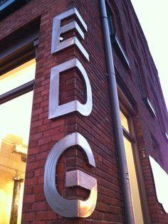 creative building facade signage - Google Search