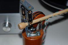 handmade 12' phono tonearm