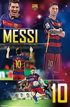 Trends International FC Barcelona Lionel Messi Wall Poster inch x 34 inch, Multicolor Cr7 Vs Messi, Neymar, Fc Barcelona, Ronaldo, Messi 2016, Argentina National Team, Soccer Players, Soccer Sports, Poster Prints