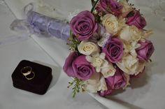 Bouquet de Novia Lila y  Ivory