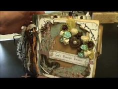 Scrapbooking Multi-Pocket Mini Album Gabriella Butterfly Paper