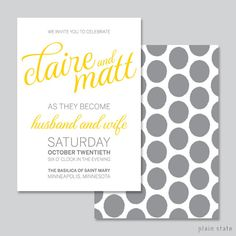 Totaly customized Calligraphy & Ikat Wedding Invitation  Printable DIY by brantman, $40.00