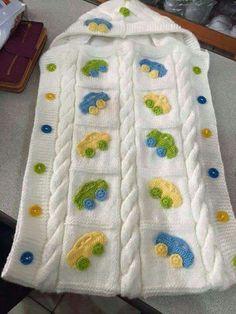 Knitting patterns, knitting designs, knitting for beginners. Crochet Baby Bonnet, Crochet Baby Cocoon, Baby Blanket Crochet, Crochet Motif, Baby Boy Knitting, Knitting For Kids, Knitting For Beginners, Kids Knitting Patterns, Knitting Designs