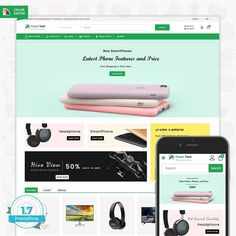 PowerTech - The Electronic Shop is Responsive theme and designed for selling fashion Apparel,Wear,Accessories,Clothing store. Theme is responsive and supports all devices,user-friendly and fine-looking