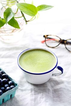 This matcha latte might just be the best way to kickstart your morning!