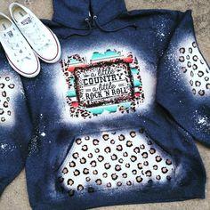 Hooded Sweatshirts, Hoodies, Little Rock, Rock N, Western Outfits, Long Hoodie, All Brands, Print Design, Western Apparel