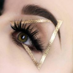 Gorgeous Makeup: Tips and Tricks With Eye Makeup and Eyeshadow – Makeup Design Ideas Makeup Goals, Makeup Inspo, Makeup Art, Makeup Tips, Hair Makeup, Makeup Ideas, Makeup Geek, Gold Makeup, Makeup Style