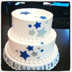 Star Wedding cake