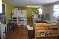 Montessori Val-d'or. Awesome home daycare setup.