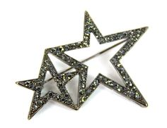 Double Star Broach