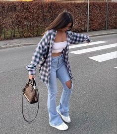 Teen Fashion Outfits, Retro Outfits, Look Fashion, Fall Outfits, Vintage Outfits, Swaggy Outfits, Cute Casual Outfits, Simple Outfits, Stylish Outfits