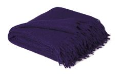 Alpaca Throw - Boucle. Comes in four colors perfect for any decor.