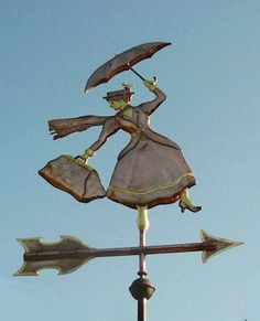 enjoying the little things / Mary Poppins weathervane on We Heart It. http://weheartit.com/entry/24334400