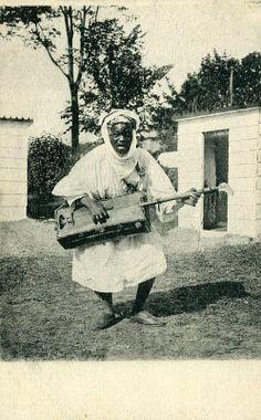 Moroccan Gnawa Maestro.