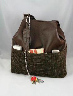 Veľké tašky - taška Montana hnedá
