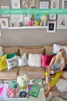 Eye Candy: 10 Bright And Lively Living Rooms