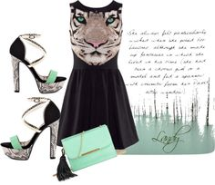 """TIGER MINT"" by chanson-de-lautomne on Polyvore"