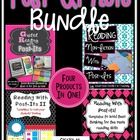 The Post-It Bundle is HERE! Save money and purchase all four products in one package! Get your students interactive with the text by using sticky n...