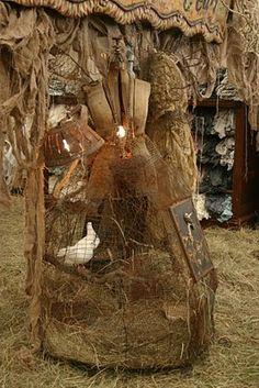 dressform birdcage..Magnolia Pearl, of course!