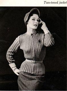 Woman's Day - Crochet in Wool Retro Fashions! 1950