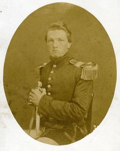 John Renwick enlisted in May 1861 the 3rd Louisiana Infantry as its sergeant major. Renwick was  a graduate of the Kentucky Military Institute; he is wearing his Kentucky Military Institute uniform in the photograph.  At the Battle of Wilson's Creek on August 10, 1861,  the 3rd Louisiana were sent to hold the right flank of the Confederate line; Renwick was killed in the initial volley from U. S. Regulars in the Ray Cornfield.