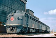 RailPictures.Net Photo: 803 Missouri Pacific EMD F7(A) at Fort Worth, Texas by Bill Marvel
