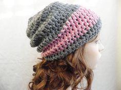 Crochet Mens Womens Unisex Souchy Beanie Slouch by artstudio760, $20.00