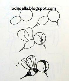 Como hacer dibujos paso a paso ~ lodijoella