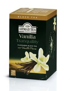 Ahmad Tea Vanilla Tranquility Black Tea 20Count Boxes Pack of 6 *** See this great product. Note: It's an affiliate link to Amazon.