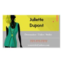 ESZAdesign Business card for style masters - stylists, tailors, dressmakers, dress sellers. Elegant silhouette of beautiful dress. Your clients will remember you.  If you didn't find a product  what you want with my design in our store, be free to contact me and I will create it for you. Thank you for your attention to our shop. Making designs is our big love! And we'll glad to make your life happier! Sincerely, EZSA Design