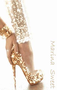 Me gustan los zapatos de tacón alto