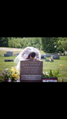 the daughter of the principal at Sandy Hook visits her mothers grave the day of her wedding....this saddens me to my very core!
