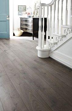 Dark Gray Luxury PVC Flooring Plank