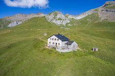 Calandahütte SAC Chur, Graubünden, Switzerland