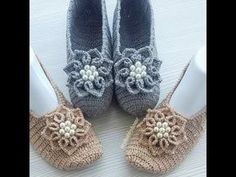 How to easy crochet mesh models, crochet models, crochet samples tutorial Flowers making Crochet Shoes Pattern, Shoe Pattern, Crochet Earrings, Weaving, Slippers, Booty, Jewelry, Crocheting, Youtube