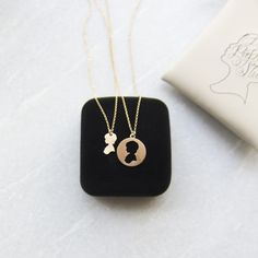 Mother Daughter Necklace Set from Le Papier Studio