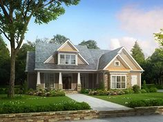 Eplans Craftsman House Plan - Great Room Design - 2619 Square Feet and 4 Bedrooms from Eplans - House Plan Code HWEPL11302