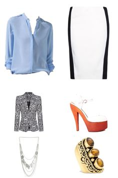 Best way for pear shaped women to wear pencil skirts is by pairing it with well fit blazers!