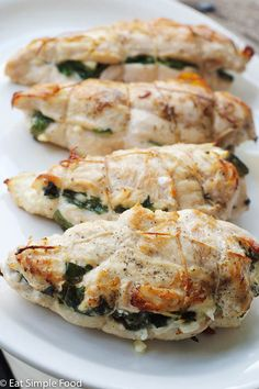 Feta & Spinach Chicken - Eat Simple Food